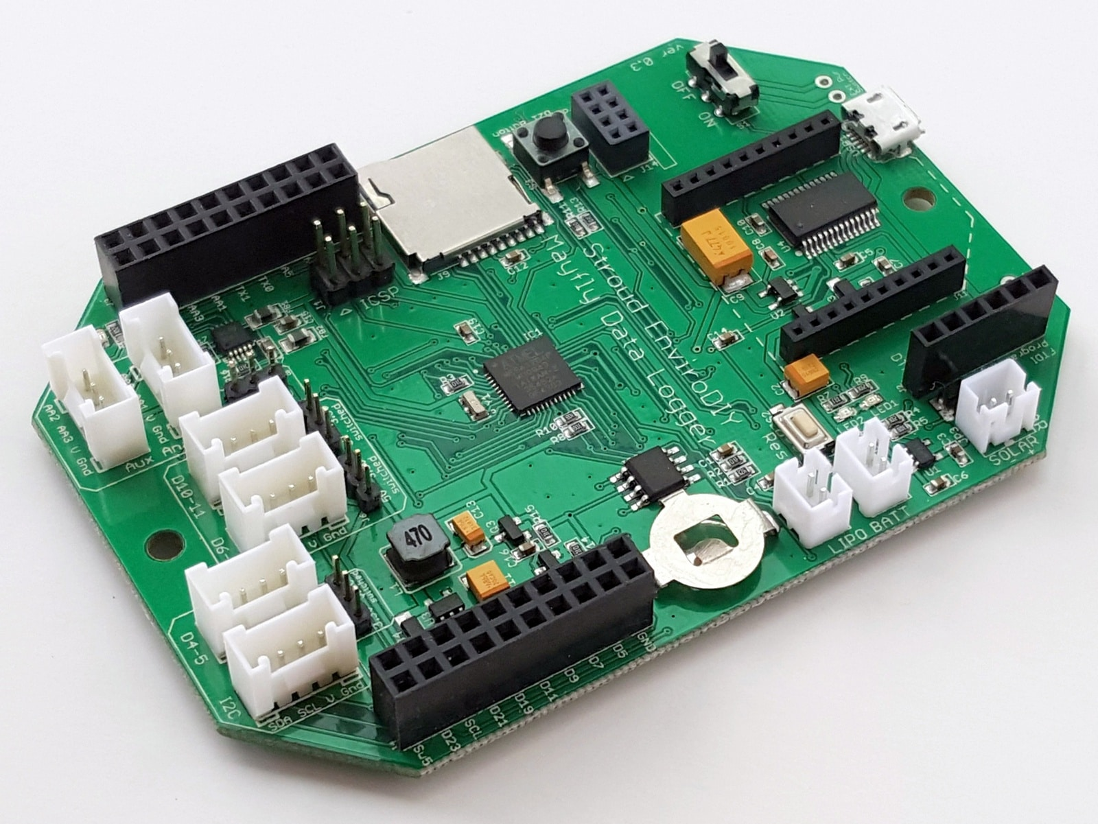 getting started with the mayfly data logger envirodiy